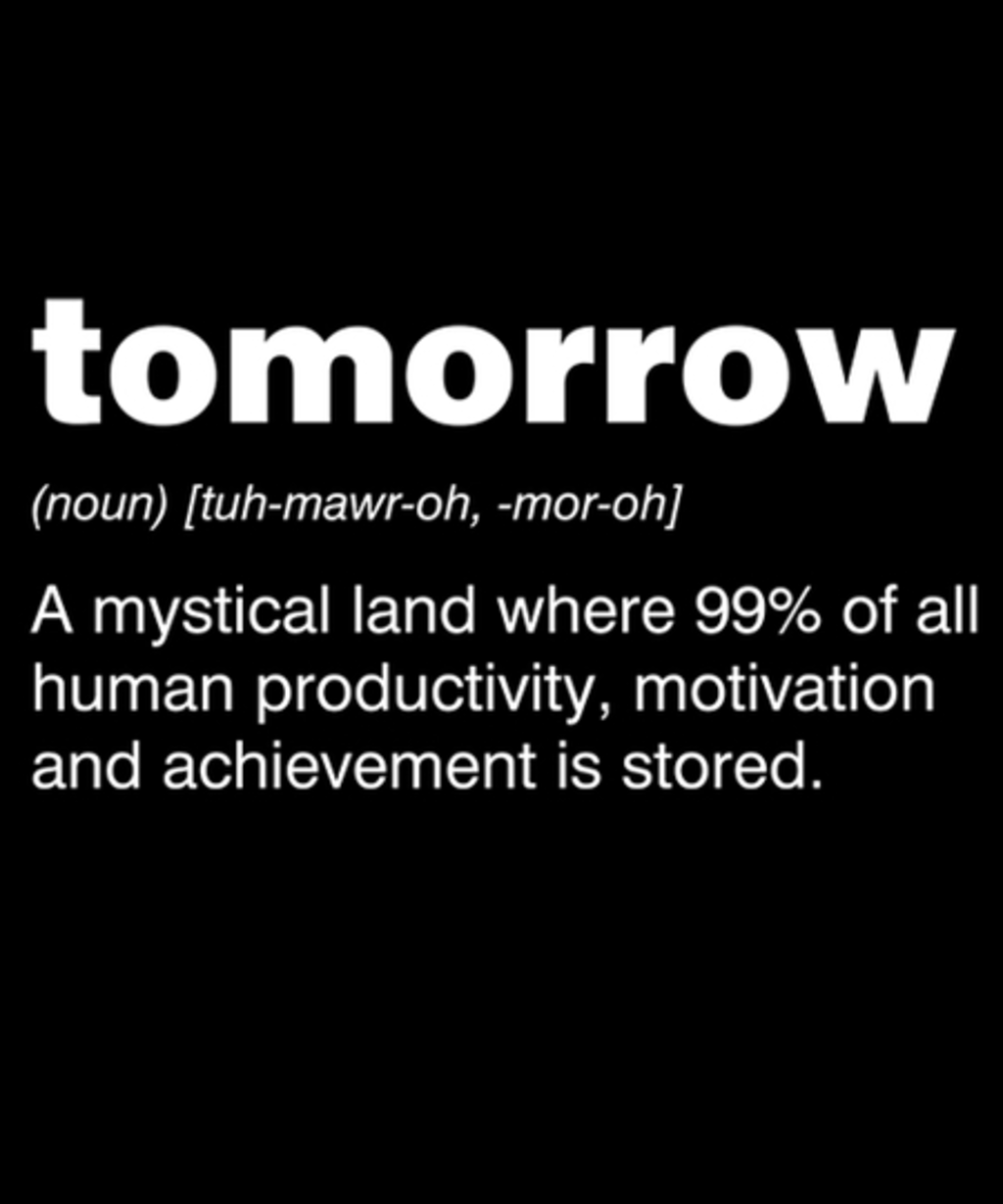 Qwertee: Tomorrow