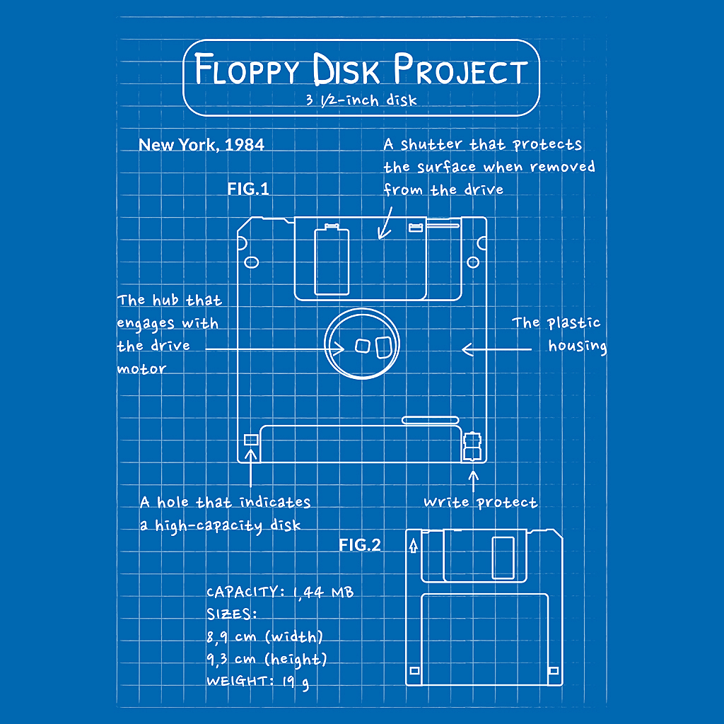 TeeTee: Floppy Disk Project