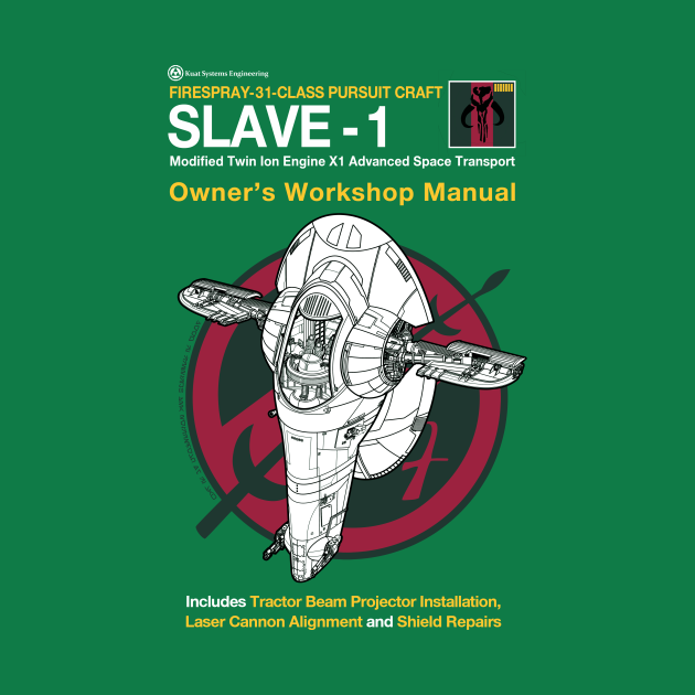 TeePublic: Slave 1 Manual