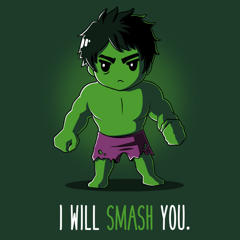 TeeTurtle: I Will Smash You.