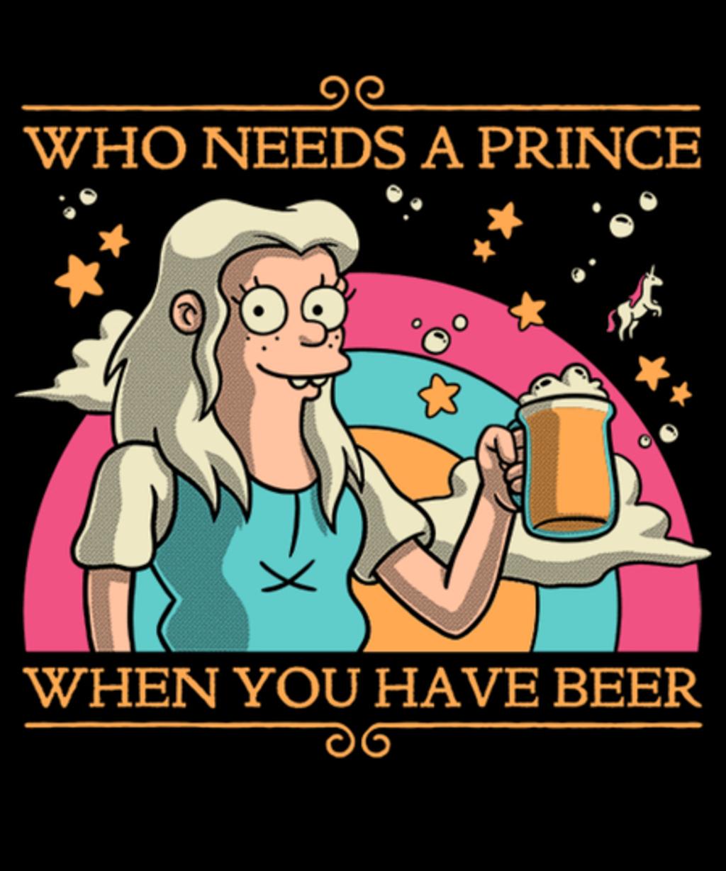Qwertee: Princess Priorities