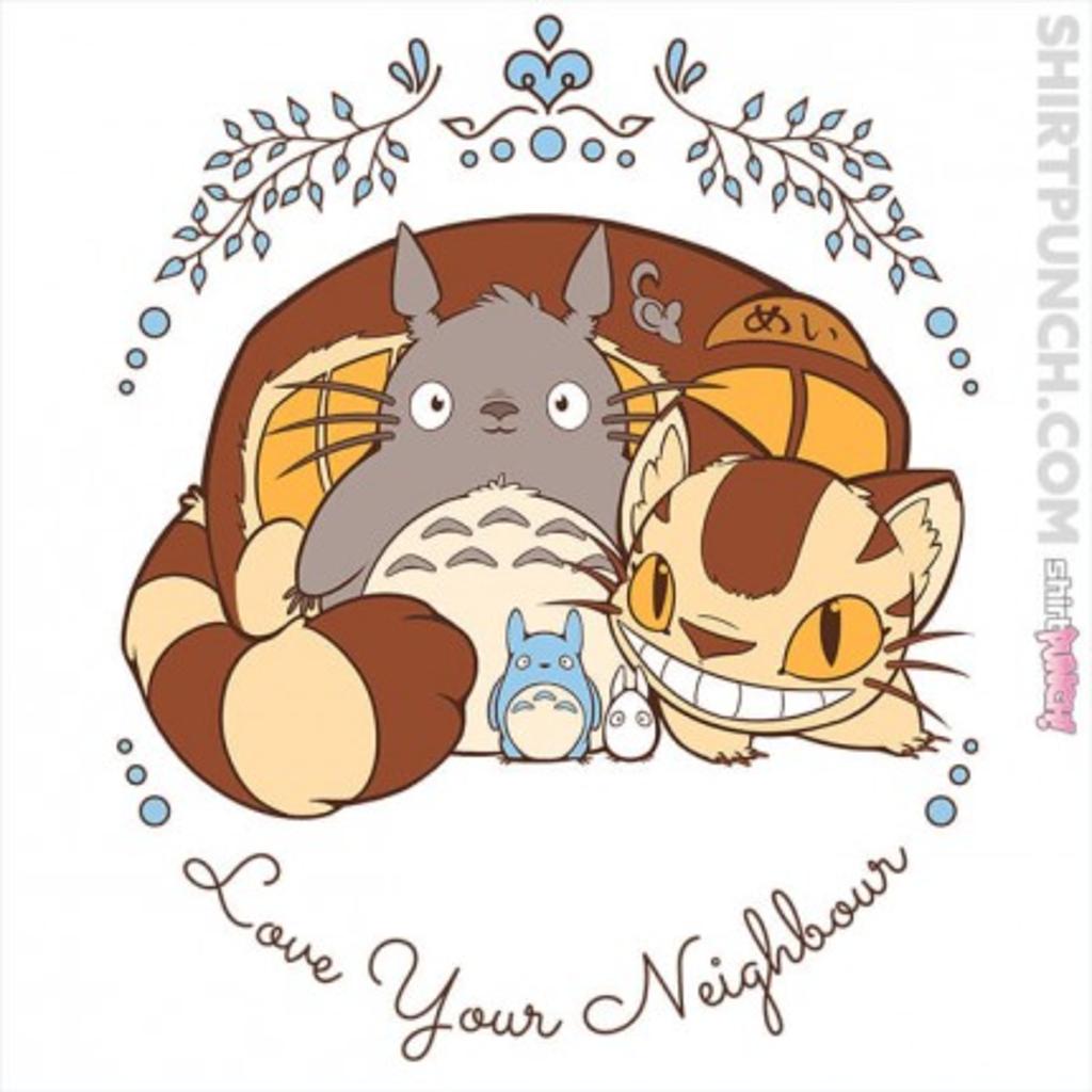 ShirtPunch: Love Your Neighbour
