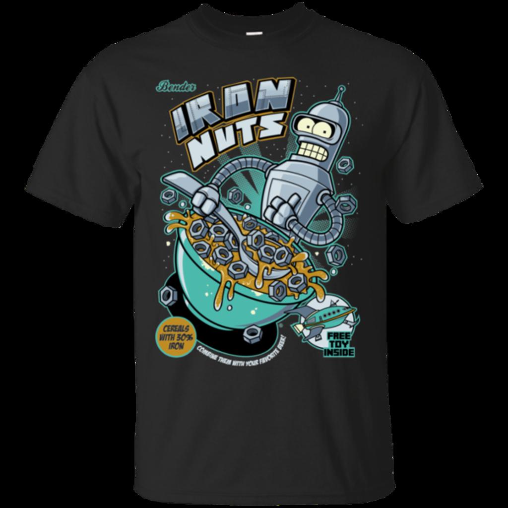 Pop-Up Tee: Iron Nuts