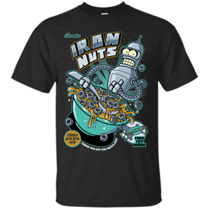 Pop-Up Tee: Iron Nuts