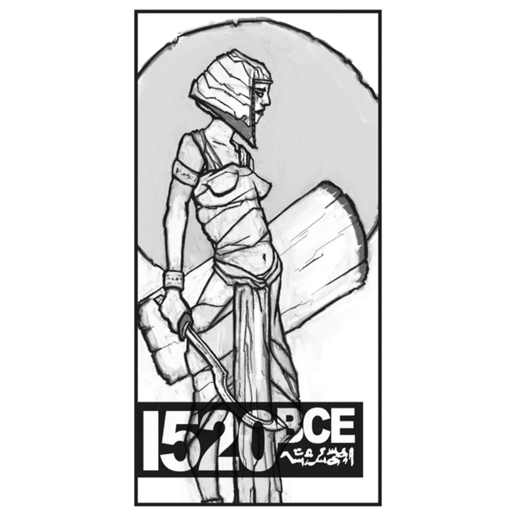 NeatoShop: Egyptian New Kingdom Soldier Halftone