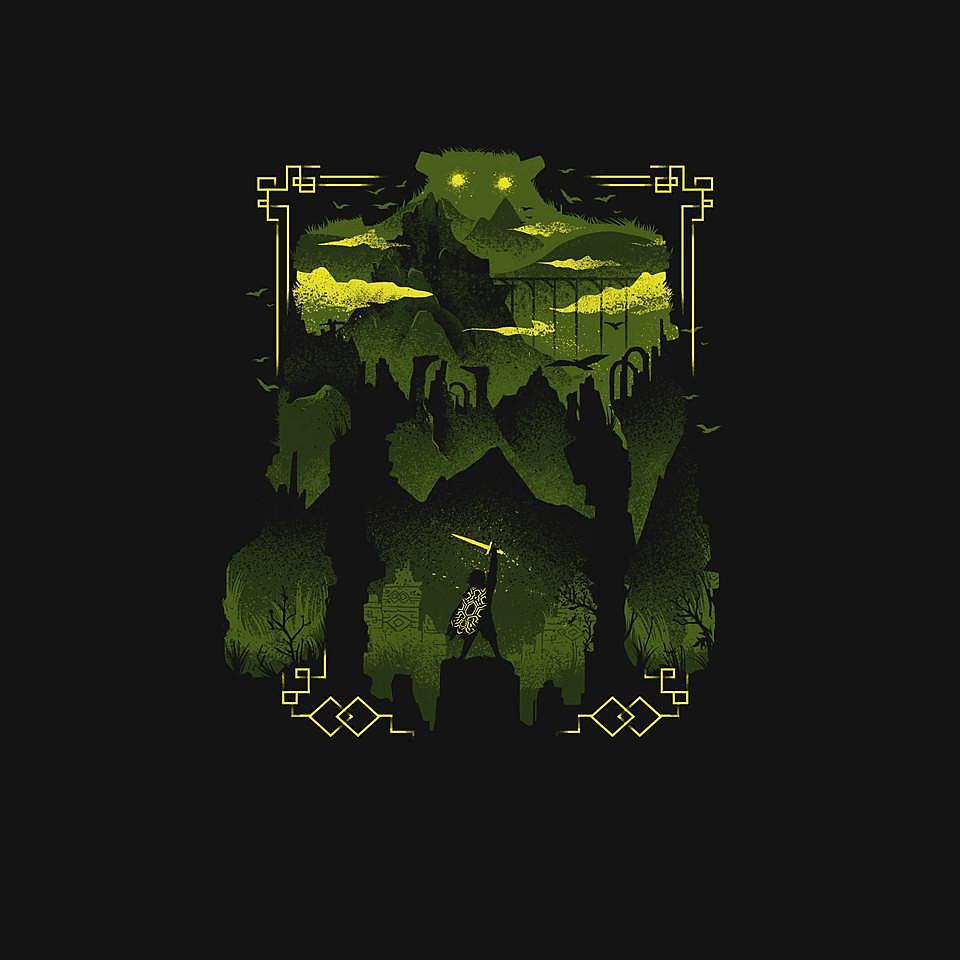 TeeFury: Ancient Shadow
