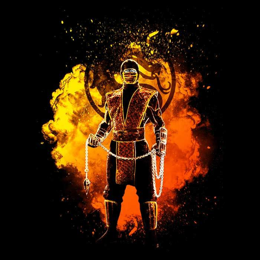 Once Upon a Tee: Soul of Fire Ninja