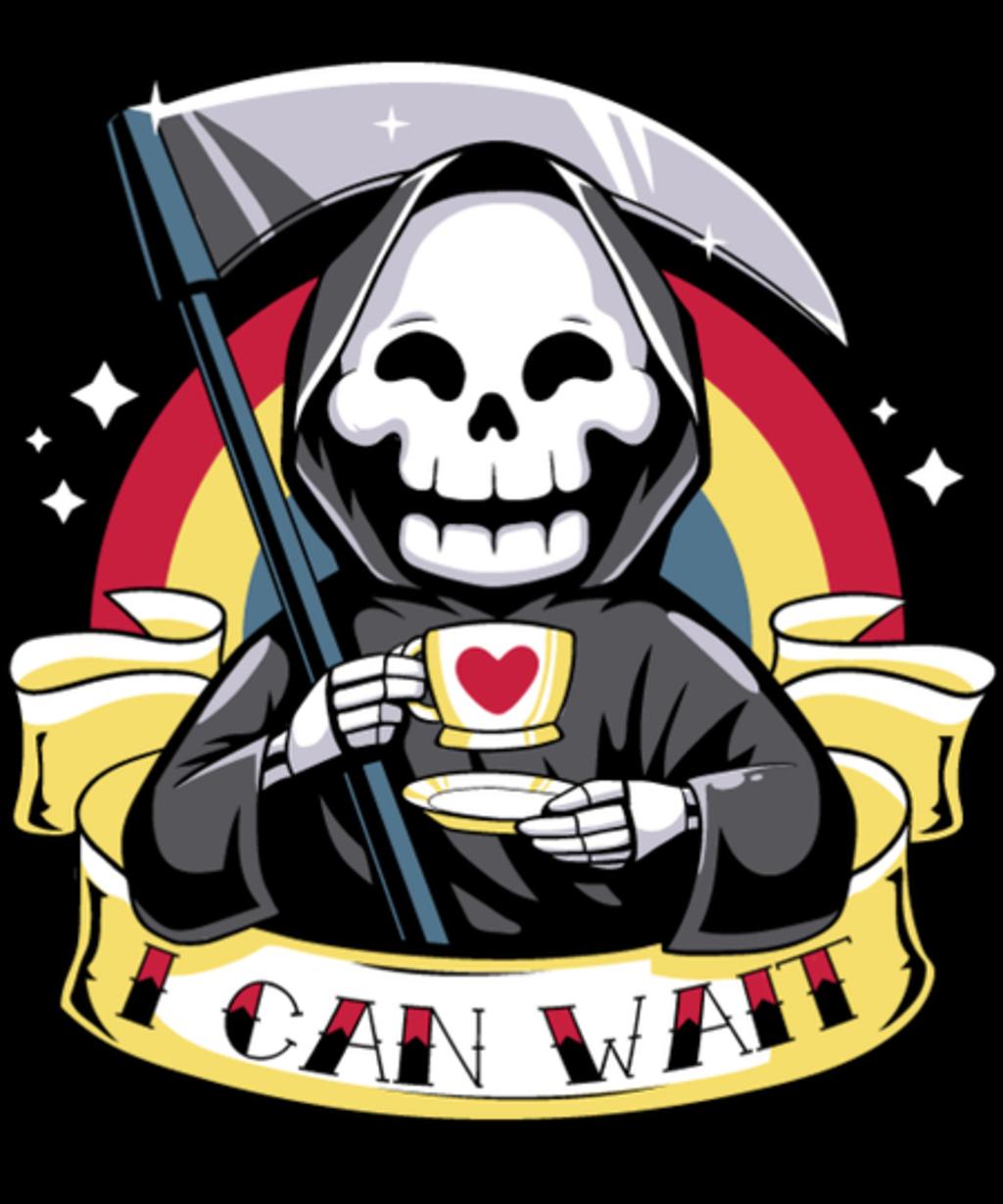 Qwertee: I can wait