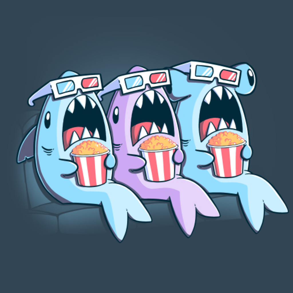 TeeTurtle: Movie Sharks