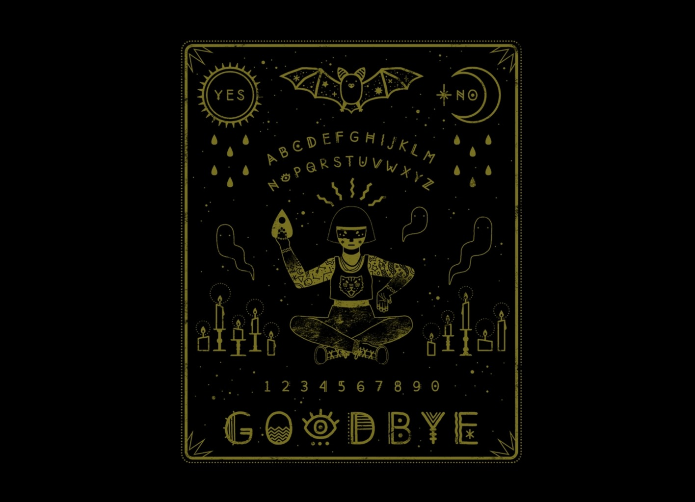 Threadless: Ouija Board