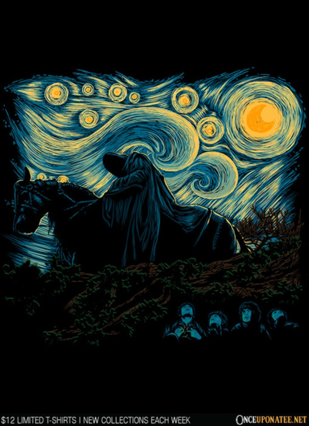 Once Upon a Tee: Nightfall in Middle Earth