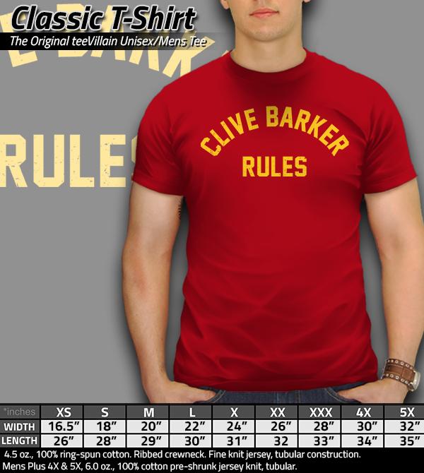 teeVillain: Barker Rules