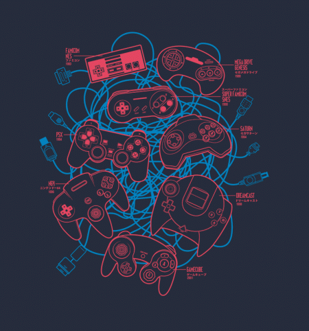 BustedTees: Gaming Legacy