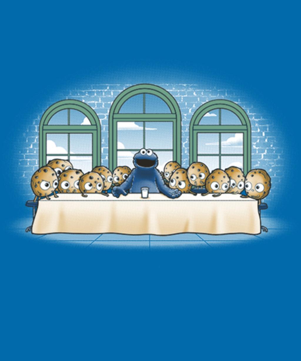 Qwertee: Cookies dinner