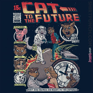 ShirtPunch: Cat To The Future