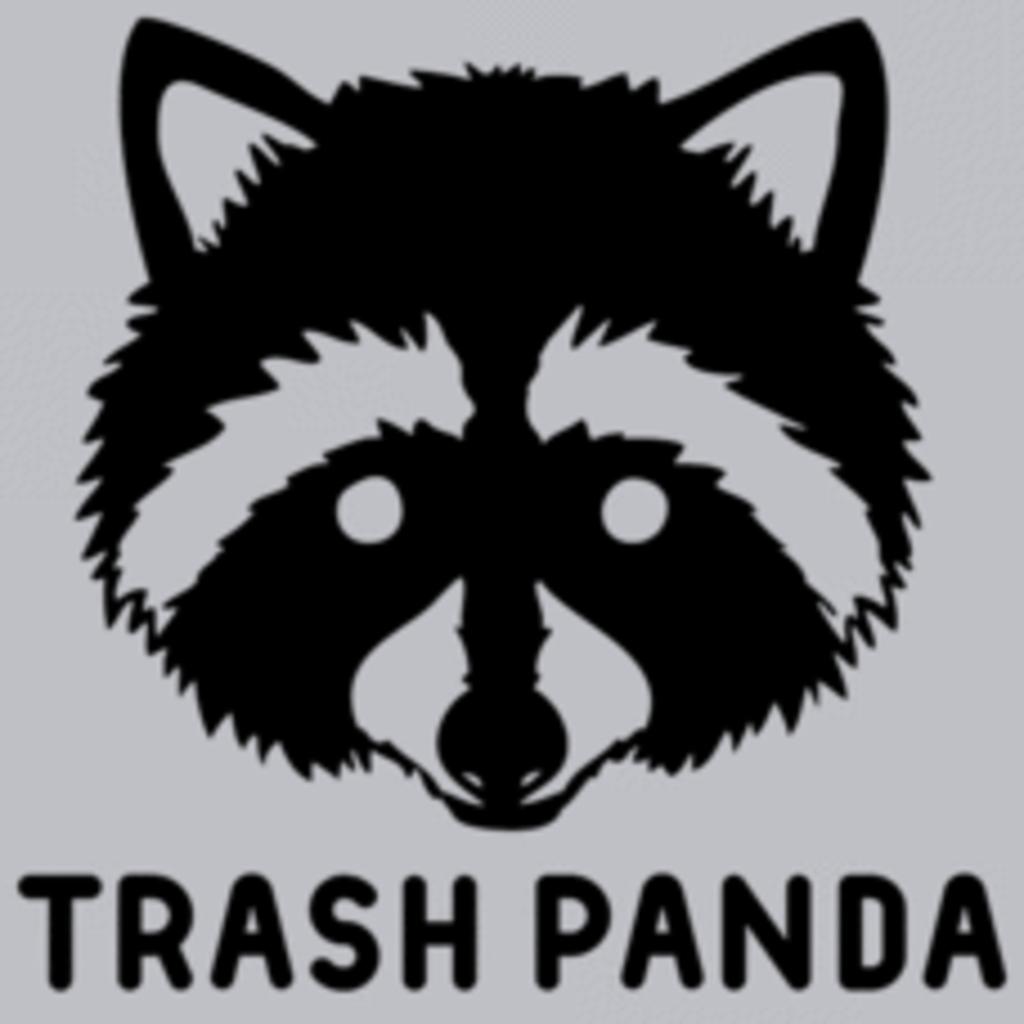 Textual Tees: Trash Panda
