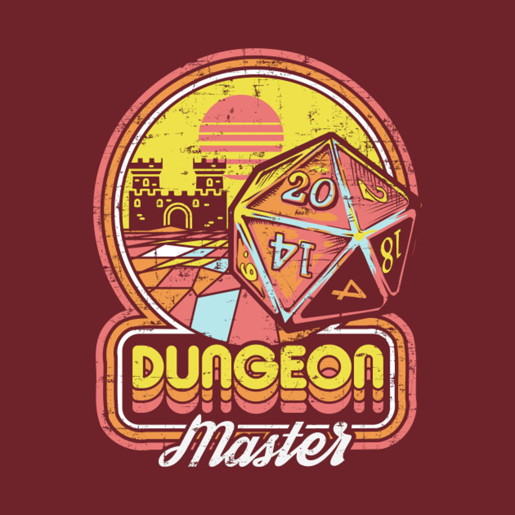 TeePublic: Dungeon Master
