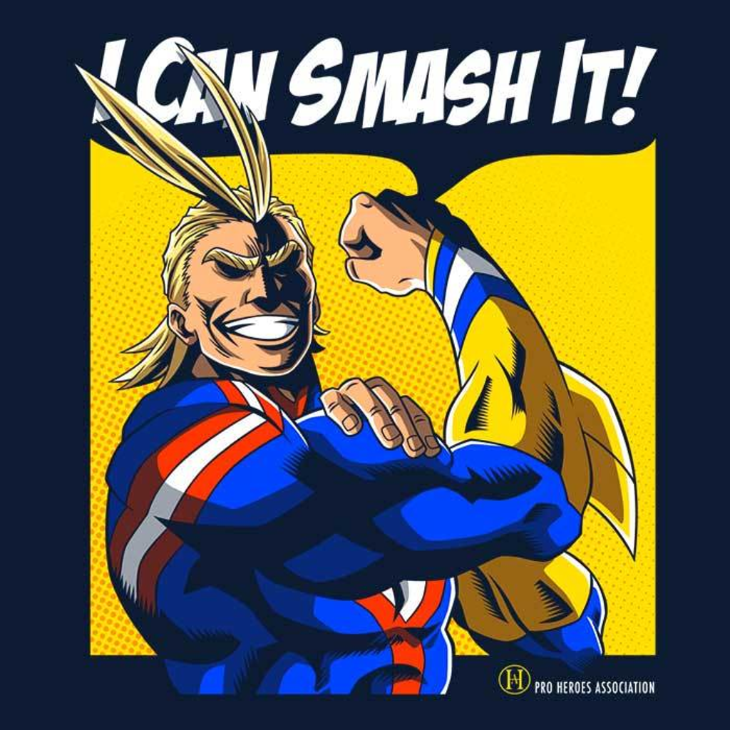 Once Upon a Tee: I Can Smash It