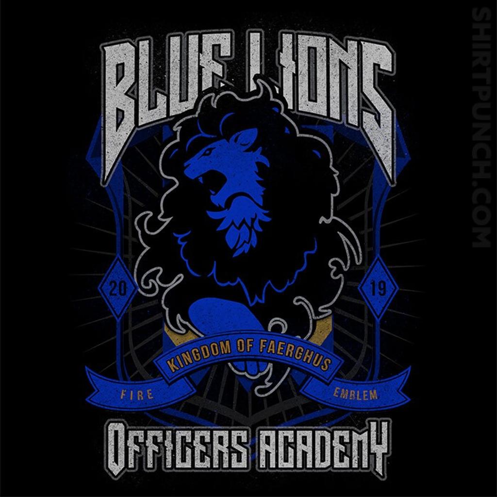 ShirtPunch: Blue Lions