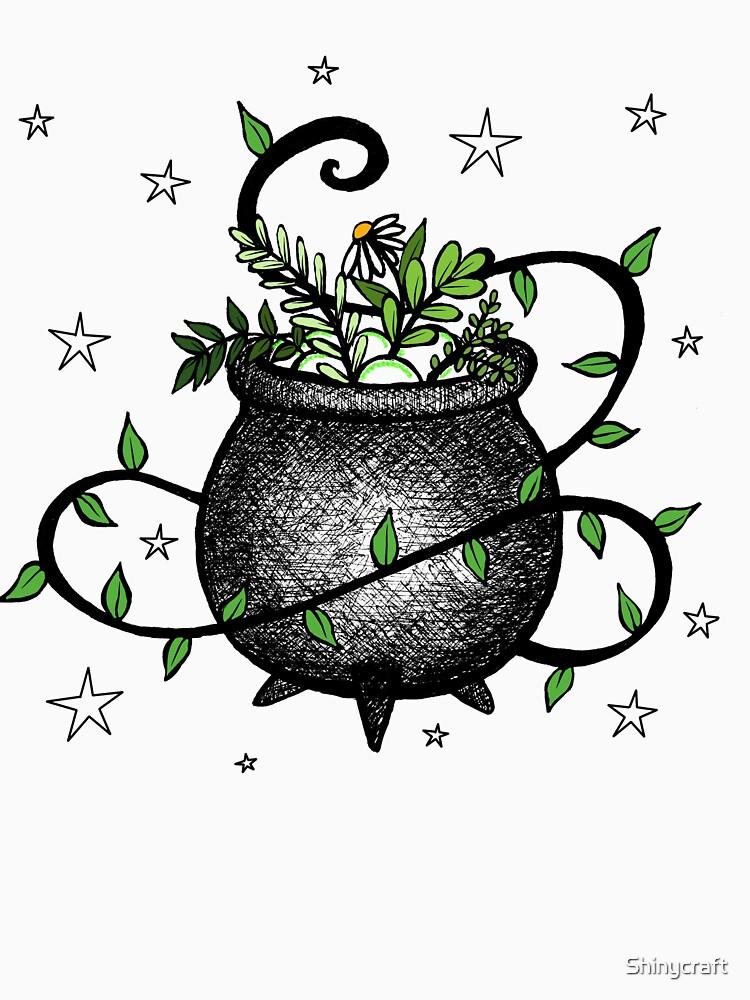RedBubble: Kitchen witch cauldron
