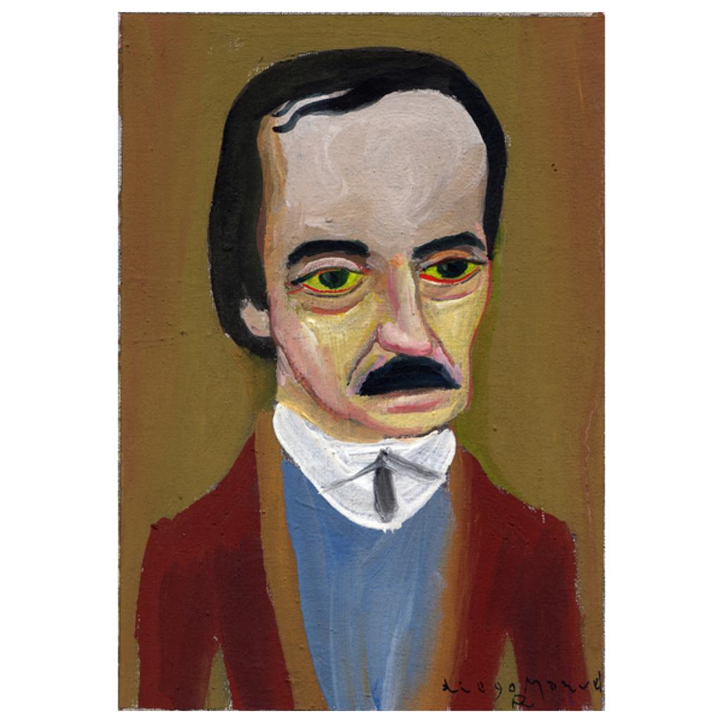 NeatoShop: Edgar Allan Poe portrait