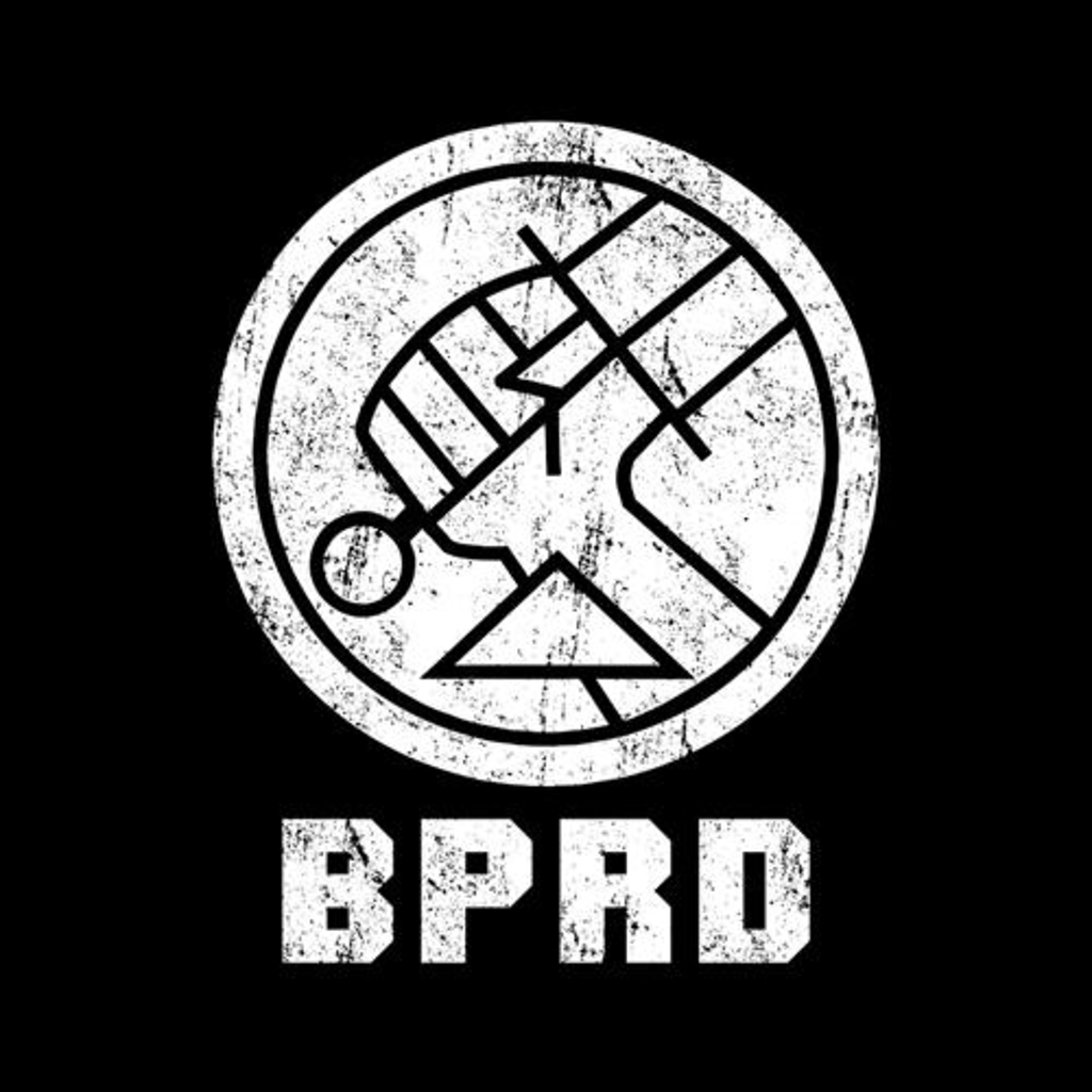 Five Finger Tees: Bureau For Paranormal Research And Defense T-Shirt