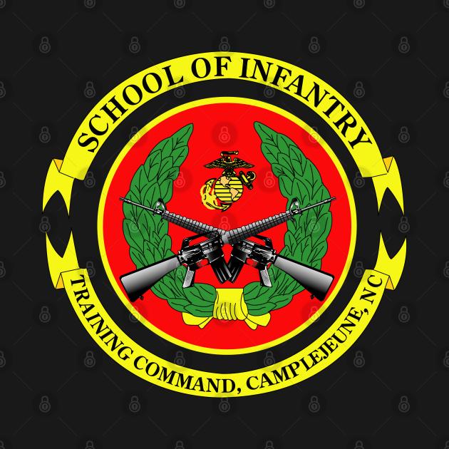 TeePublic: USMC - School of Infantry - Camp Geiger