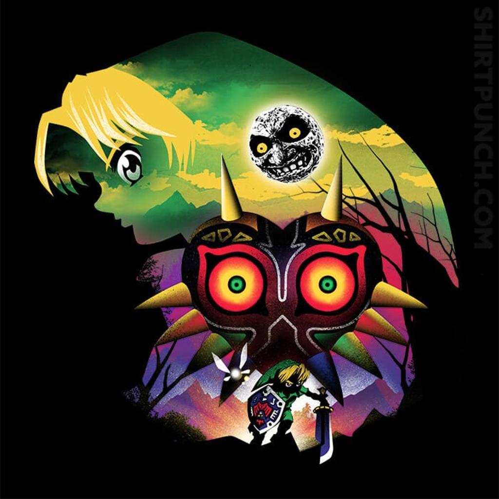 ShirtPunch: Majora's Mask