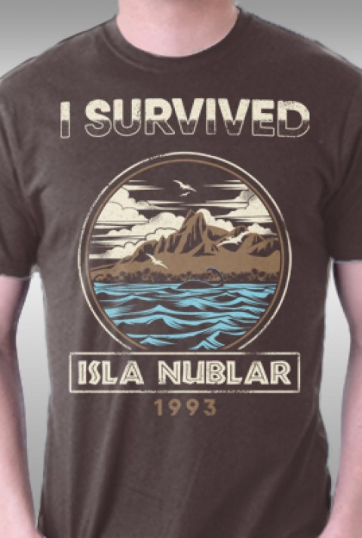 TeeFury: Isla Nublar, 1993
