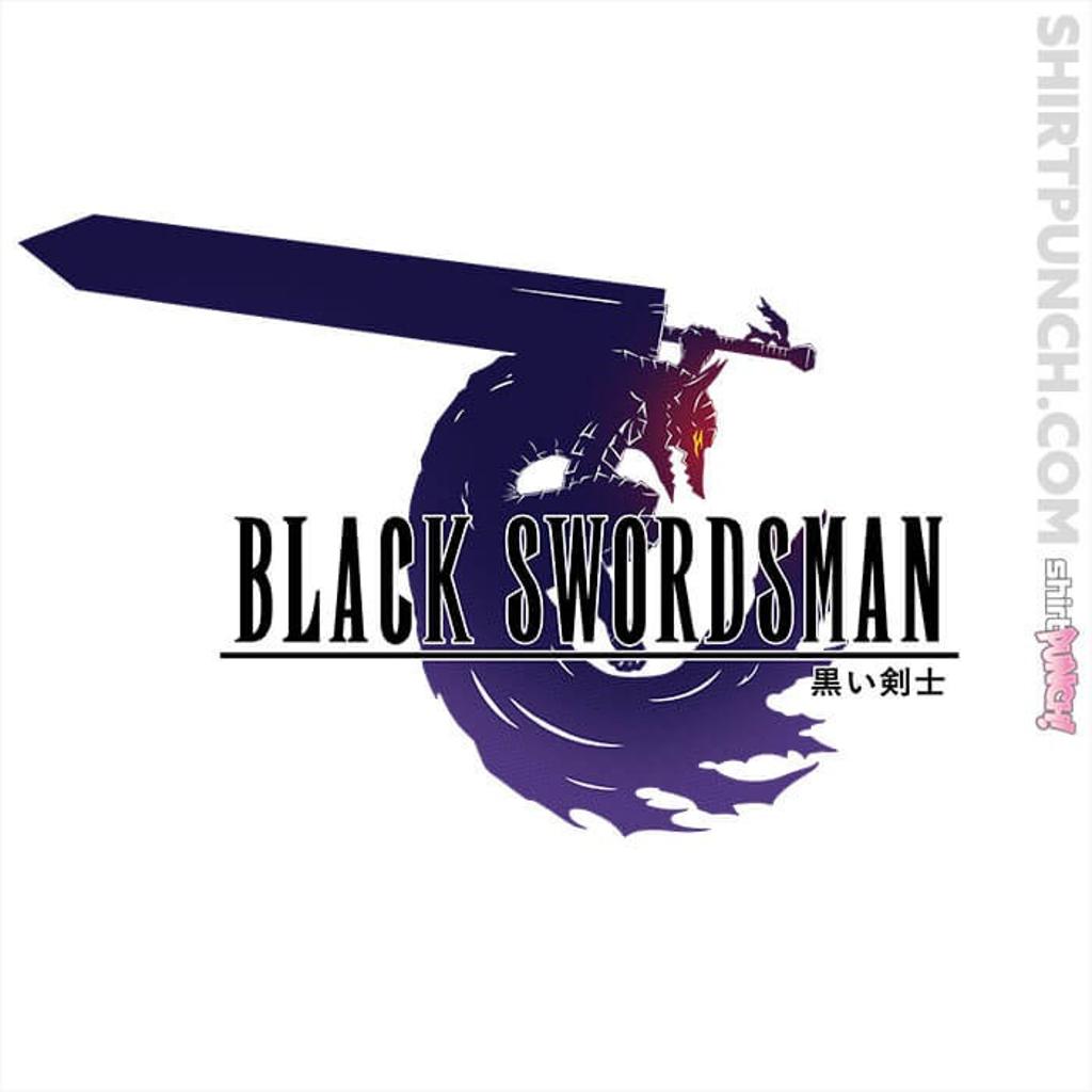 ShirtPunch: Black Swordsman