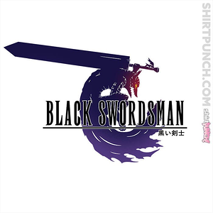ShirtPunch: Black Swordsman