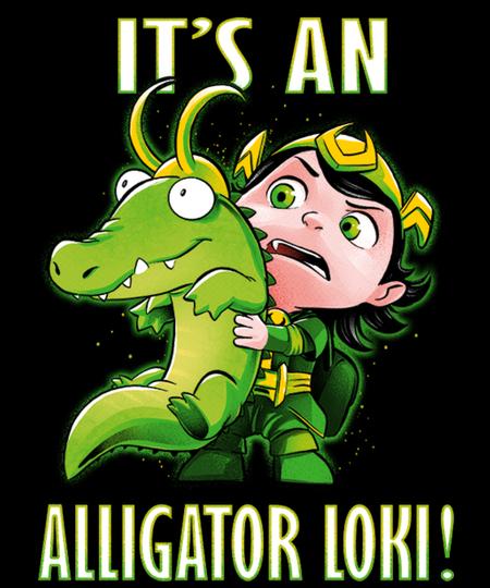 Qwertee: It's an Alligator