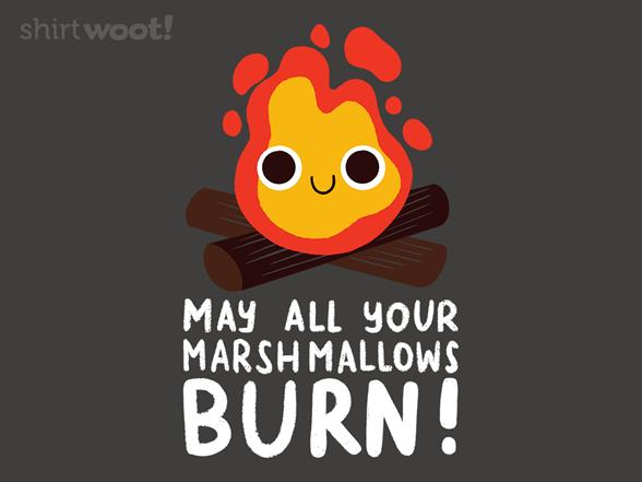 Woot!: Burning Marshmallows