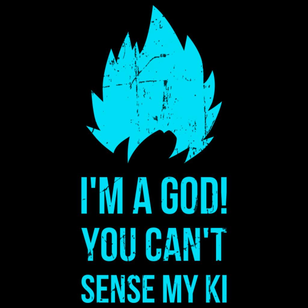 NeatoShop: I'm a God blue
