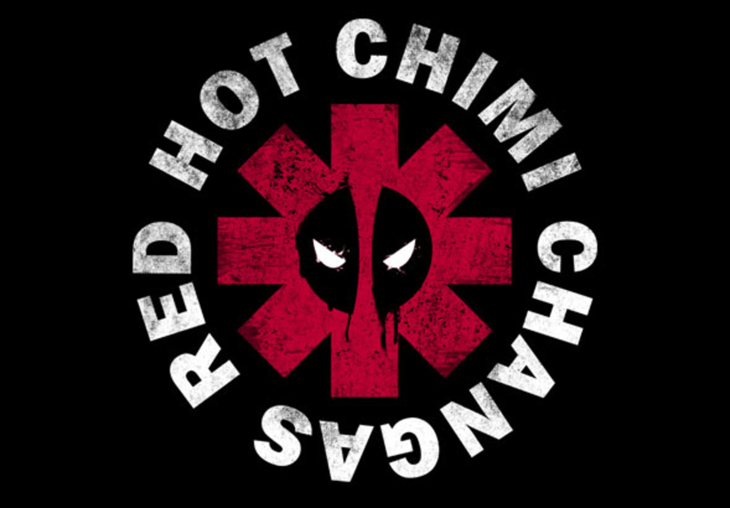 teeVillain: Red Hot Chimi Changas