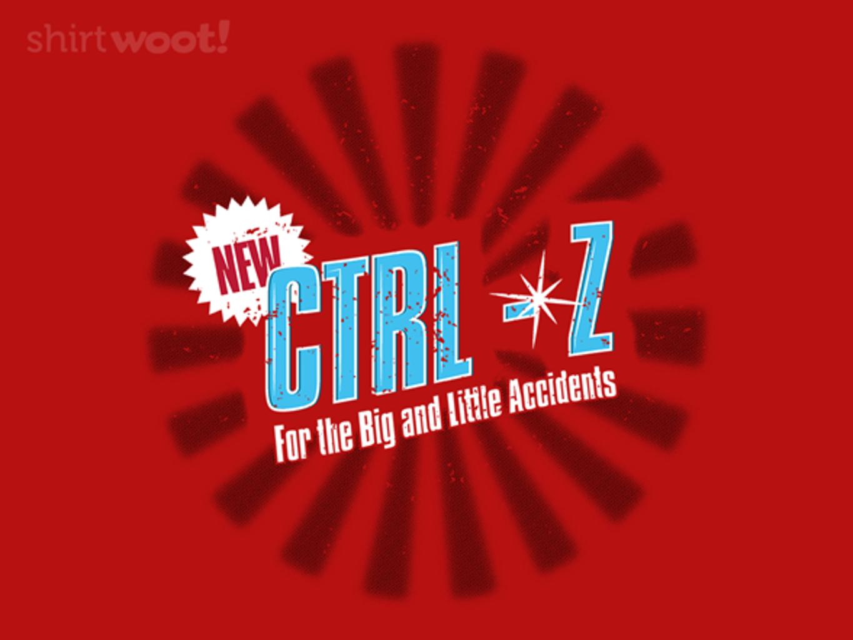 Woot!: New! CTRL-Z