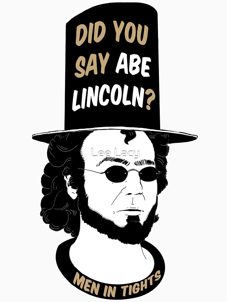 RedBubble: Men In Tights - Abe Lincoln