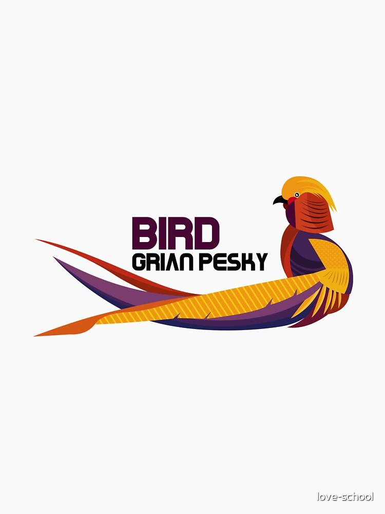 RedBubble: grian pesky bird