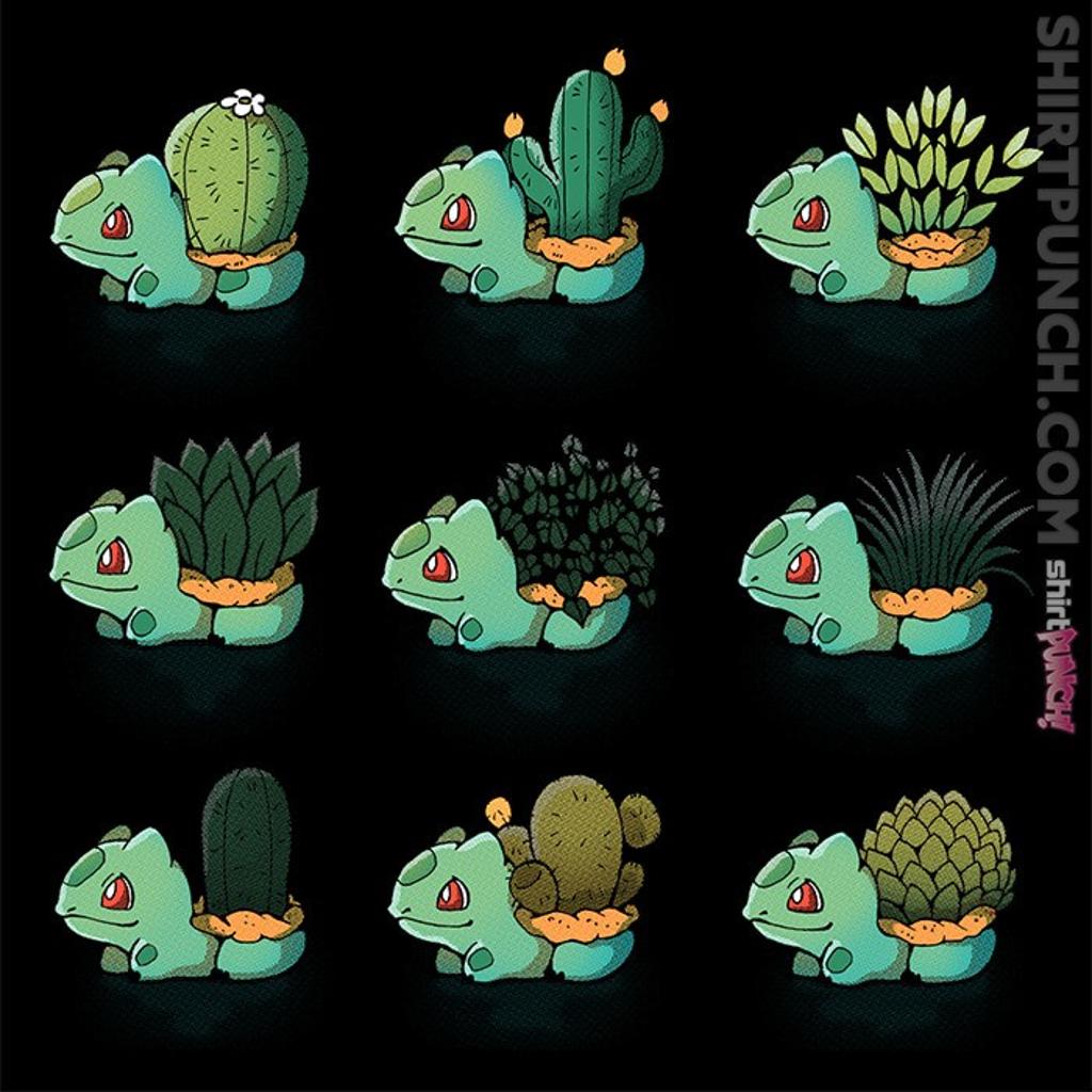 ShirtPunch: Bulba Succulents