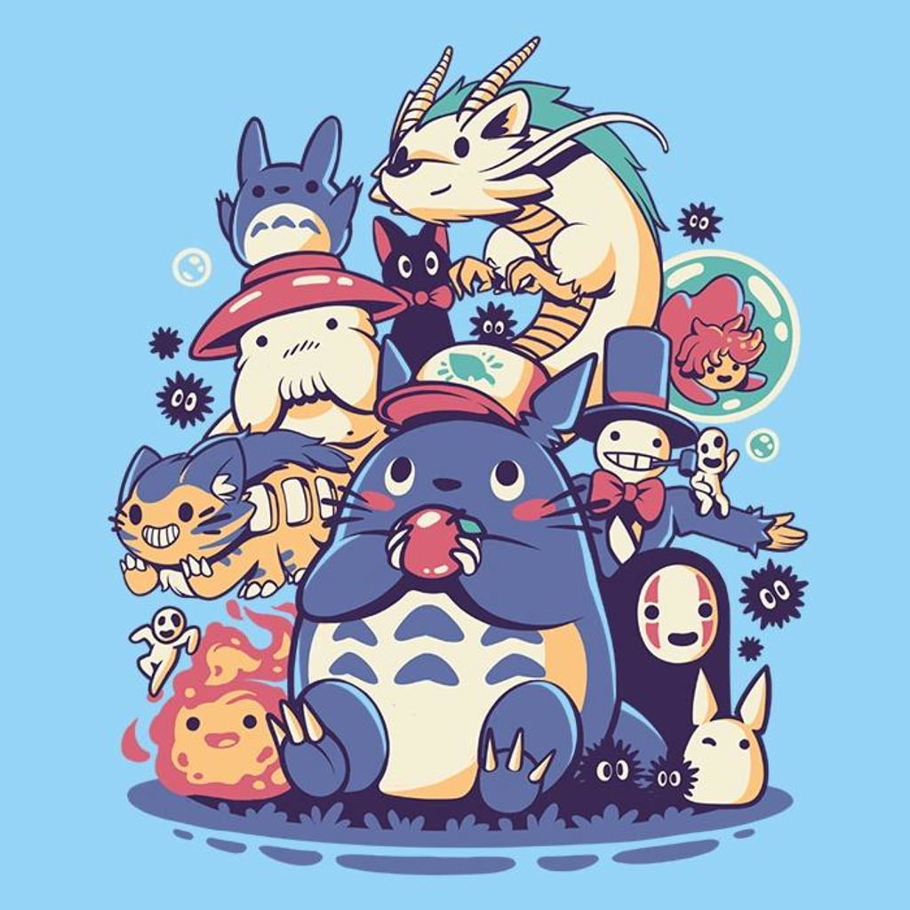 Once Upon a Tee: Creatures, Friends, and Spirits