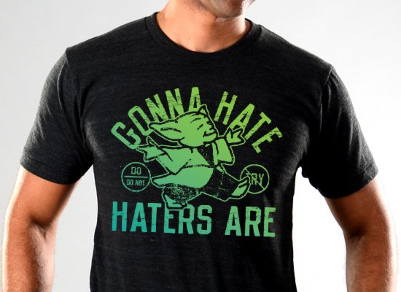 SnorgTees: Gonna Hate Haters Are Limited Edition Tri-Blend