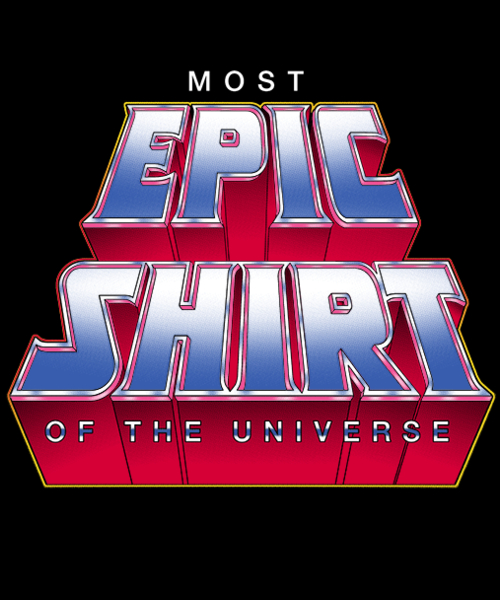 Qwertee: Most Epic Shirt of the Universe