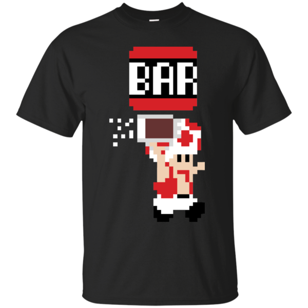 Pop-Up Tee: To The Bar Toad