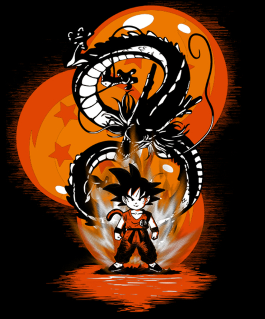 Qwertee: Boy with the Dragon