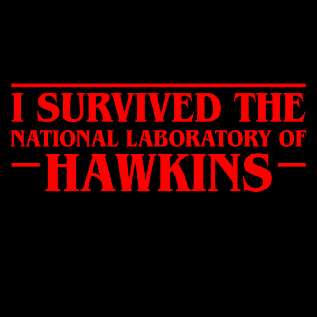 NeatoShop: I Survived Hawkins Laboratory