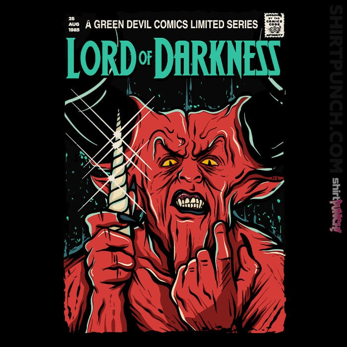 ShirtPunch: Lord Of Darkness