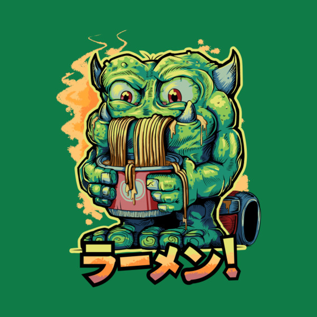 TeePublic: Monster Ramen