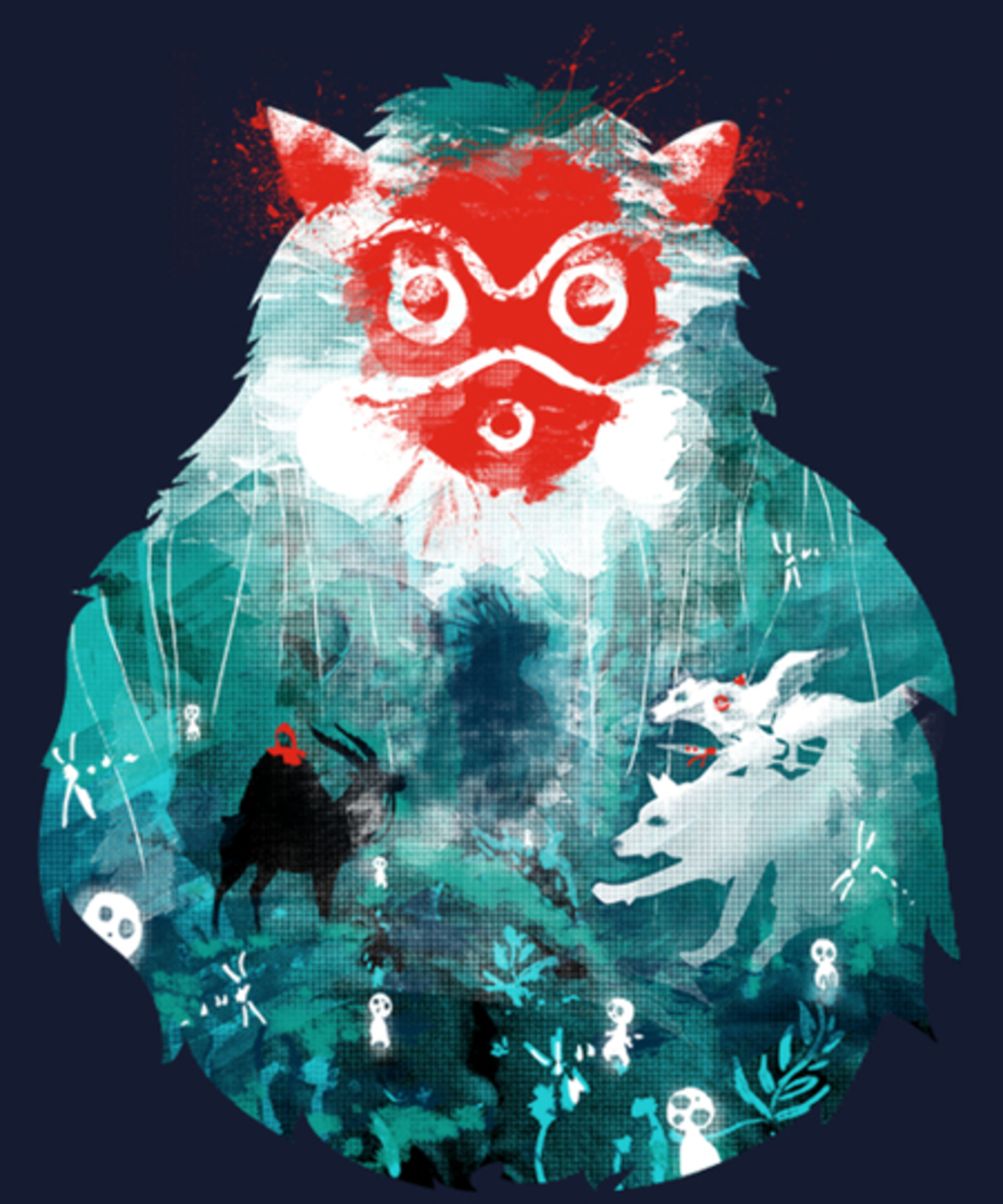 Qwertee: In To The Forest