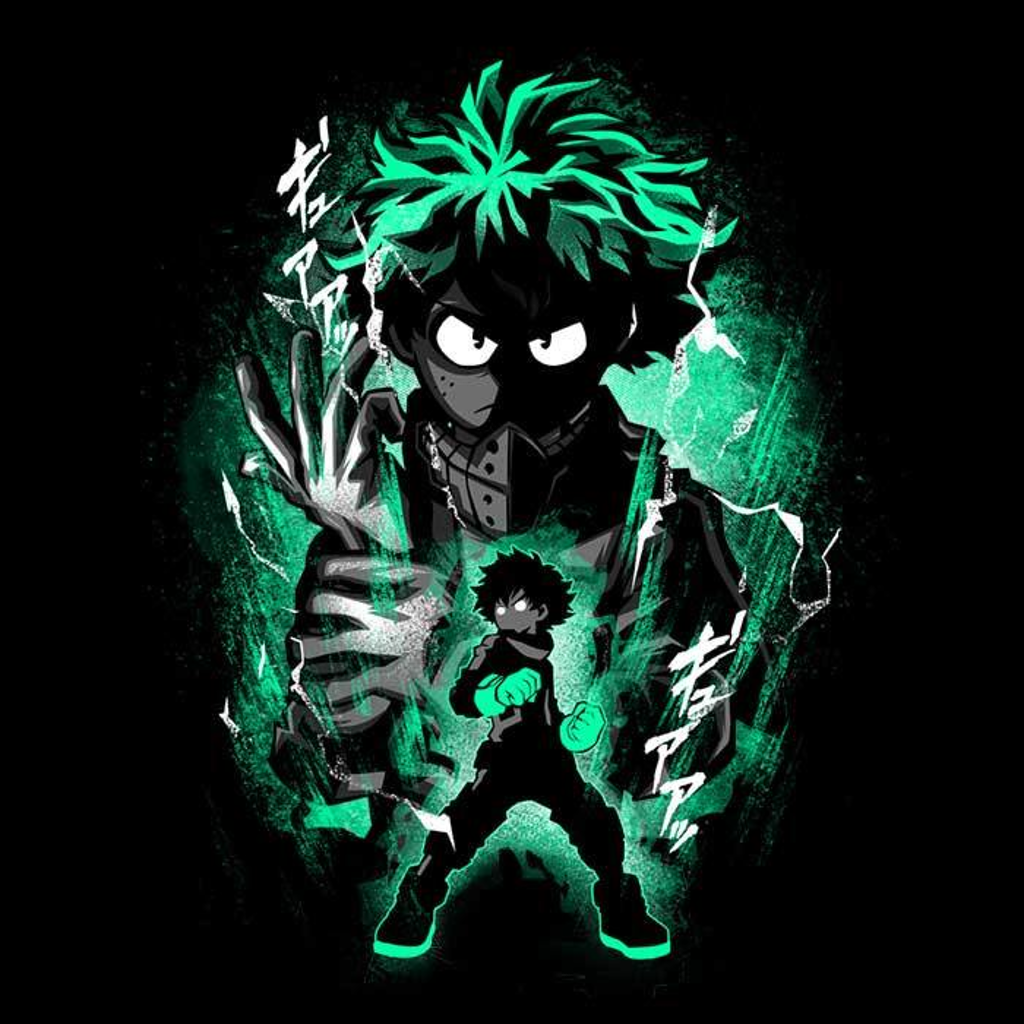 Once Upon a Tee: Attack of Izuku