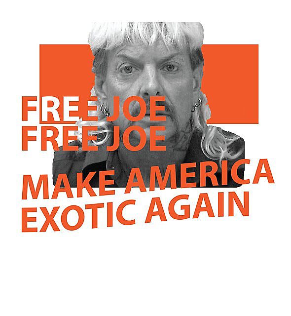 RedBubble: Joe Exotic Free